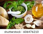 ingredients for italian pesto
