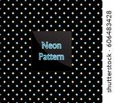 pattern rhomb | Shutterstock .eps vector #606483428
