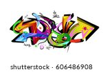Graffiti Arrows Designs. Vecto...
