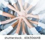 hand. | Shutterstock . vector #606506648
