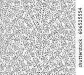 raster illustration. adult... | Shutterstock . vector #606525554
