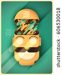conceptual illustration of a... | Shutterstock .eps vector #606530018
