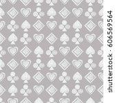 seamless vector geometrical... | Shutterstock .eps vector #606569564