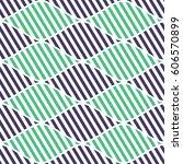 seamless vector abstract... | Shutterstock .eps vector #606570899