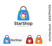 capture shop | Shutterstock .eps vector #606594434