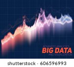 vector abstract big data... | Shutterstock .eps vector #606596993