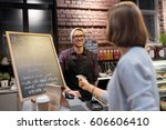 small business  payment  people ... | Shutterstock . vector #606606410