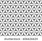 vector seamless pattern ... | Shutterstock .eps vector #606626624