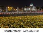 ananta samakhom throne hall...   Shutterstock . vector #606632810