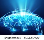 abstract of world network ...   Shutterstock .eps vector #606660929