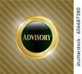 vector illustration of advisory ... | Shutterstock .eps vector #606687380
