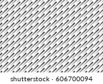 white and black geometric... | Shutterstock .eps vector #606700094