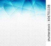 modern blue color polygonal...   Shutterstock .eps vector #606701138