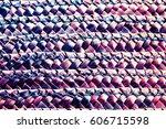 Handcraft Pattern Weave Textur...