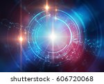 backdrop design of sacred... | Shutterstock . vector #606720068