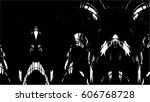 grunge black and white urban... | Shutterstock .eps vector #606768728