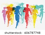 Running People. Fitness...