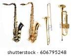 Tenor Saxophones Trombone And...