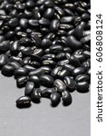 Pile Of Black Beans  Black...