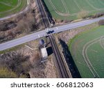 aerial view   top view of...   Shutterstock . vector #606812063