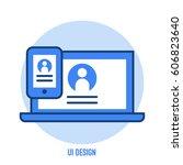 ui design illustration with...