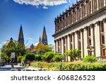 guadalajara  jalisco  mexico   Shutterstock . vector #606826523