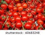 Background Of Fresh Tomatos Fo...