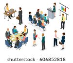 business corporate lifestyle of ... | Shutterstock .eps vector #606852818