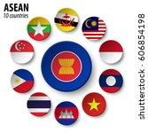 asean   association of...   Shutterstock .eps vector #606854198