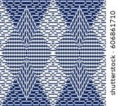 vector seamless pattern ... | Shutterstock .eps vector #606861710