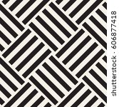 repeating geometric stripes... | Shutterstock .eps vector #606877418