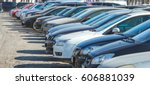 parking cars | Shutterstock . vector #606881039