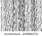 wood texture black and white... | Shutterstock .eps vector #606886376