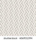 geometric seamless pattern.... | Shutterstock .eps vector #606931394