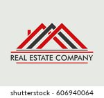 real estate  building ... | Shutterstock .eps vector #606940064