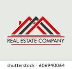 real estate  building ... | Shutterstock .eps vector #606940064