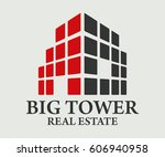 real estate  building ... | Shutterstock .eps vector #606940958