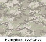 fashionable camouflage pattern  ... | Shutterstock .eps vector #606962483