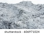 Small photo of calcium carbide residue are waste by-product from acetylene gas
