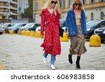 milan  italy   september 21 ... | Shutterstock . vector #606983858