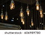 Lighting On The Chandelier In...