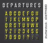 Airport Board Vector....