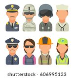 set icon people different...   Shutterstock .eps vector #606995123