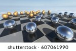 Surreal Oprganic Spheres On A...