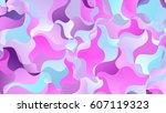 Purple Blue Abstract Random...