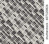 vector seamless black and white ... | Shutterstock .eps vector #607120826
