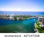 lake boca | Shutterstock . vector #607147208