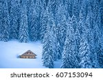 beautiful view of traditional... | Shutterstock . vector #607153094