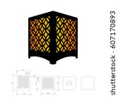 Cut Out Template For Lamp ...