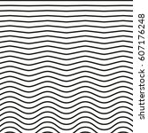 black and white striped lines....   Shutterstock .eps vector #607176248